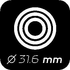 Ø 31,6 mm